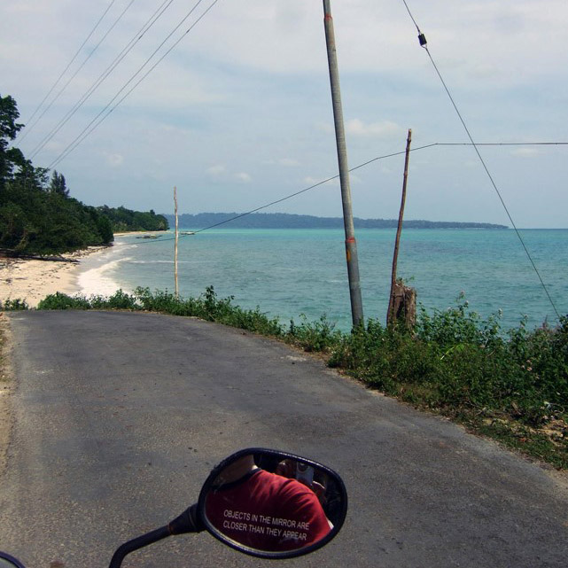 Andamans-Havelock-Scooter ride