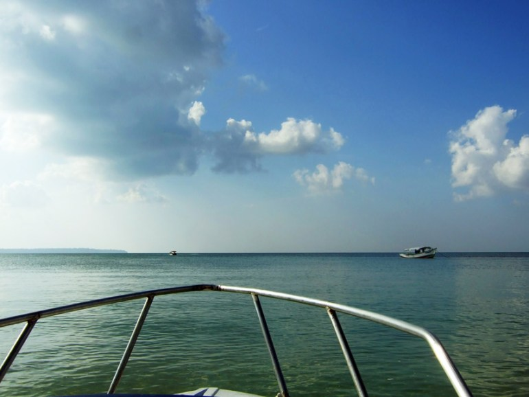 Andamans-Wandoor-Boat ride 1