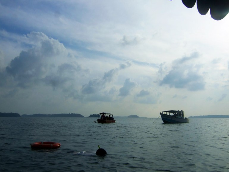 Andamans-Wandoor-Boat ride 2