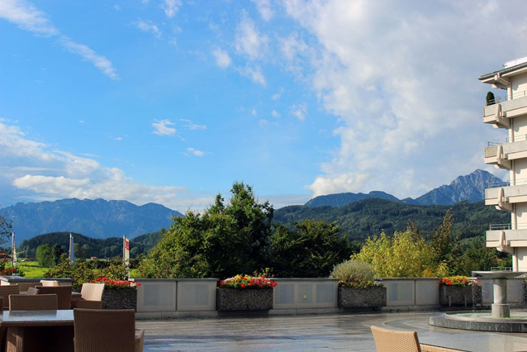 Outdoor dining - Ainring, Salzburg and the Jenner: A road trip through Germany, and other ways to pass the time (Part 5)