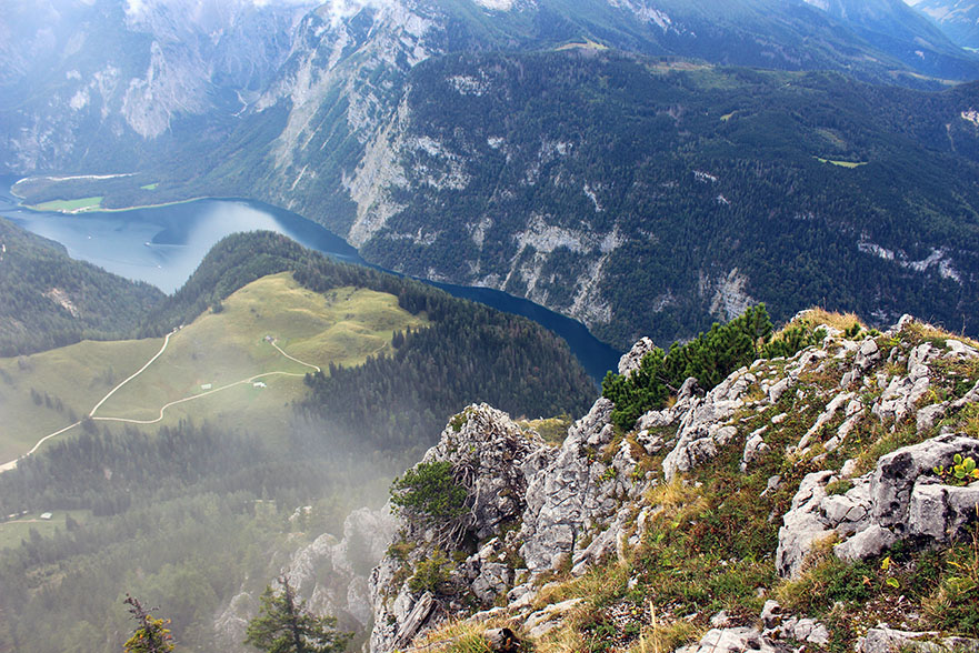 View of the Koenigssee - Ainring, Salzburg and the Jenner: A road trip through Germany, and other ways to pass the time (Part 5)