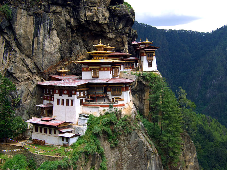 Taktsang 'Tiger's Nest' Monastery, Paro, Bhutan - travel photos