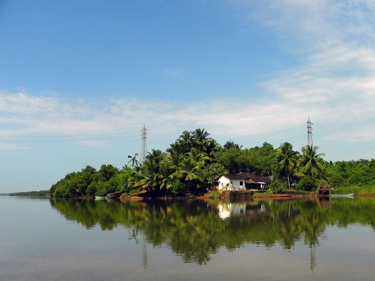 Down the Mandovi river in Goa, India - travel photos