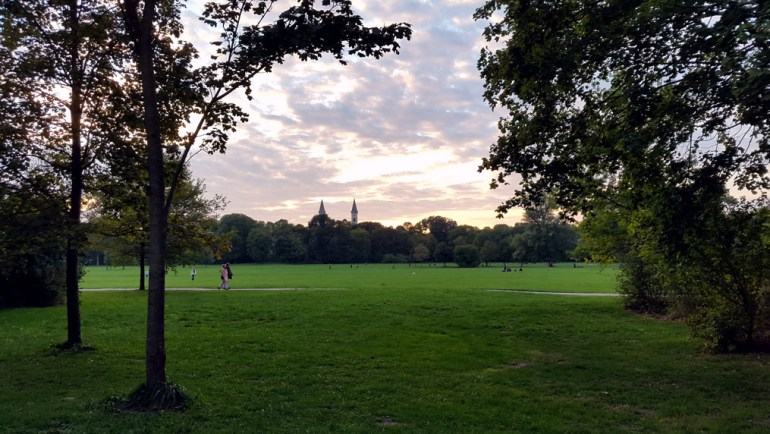 Munich - English garden - Munich and the Oktoberfest: Part 6 of A road trip through Germany, and other ways to pass the time