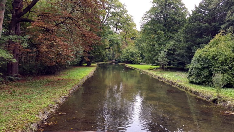 Munich - Nymphenburg canal - Munich and the Oktoberfest: Part 6 of A road trip through Germany, and other ways to pass the time