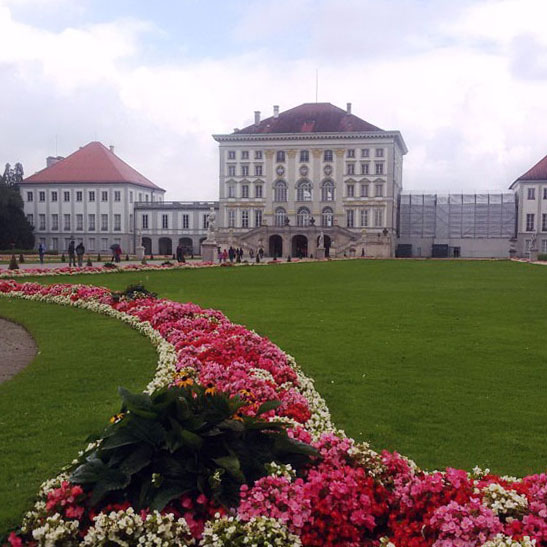 Munich - Nymphenburg flowerbed - Munich and the Oktoberfest: Part 6 of A road trip through Germany, and other ways to pass the time
