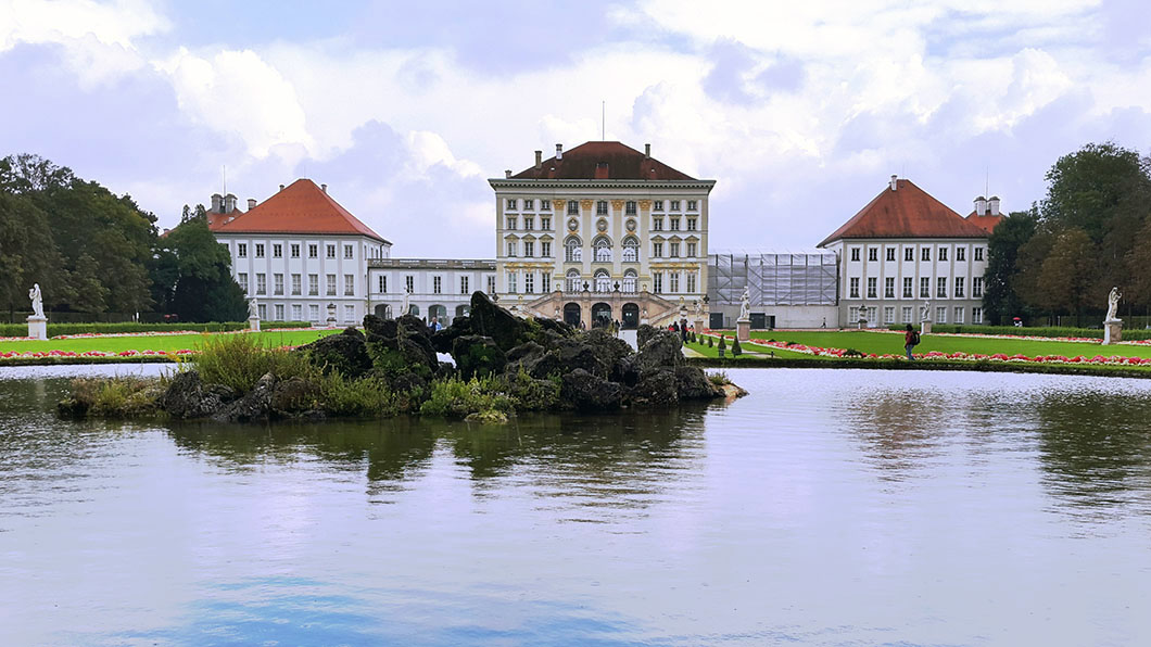 Nymphenburg palace in Munich, Germany - travel photos