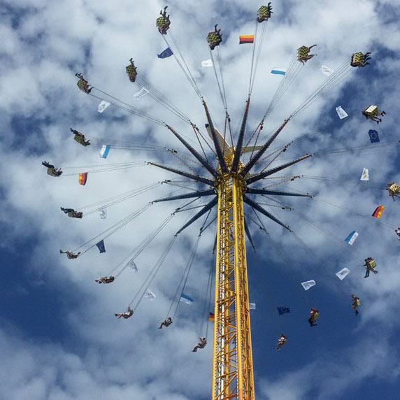 Munich - Okotberfest ride - Munich and the Oktoberfest: Part 6 of A road trip through Germany, and other ways to pass the time