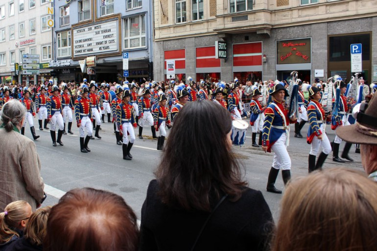 Munich - Parade soldiers - Munich and the Oktoberfest: Part 6 of A road trip through Germany, and other ways to pass the time