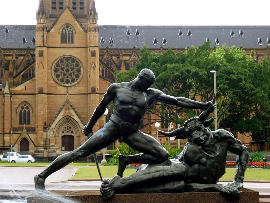 Sydney - St Marys minotaur