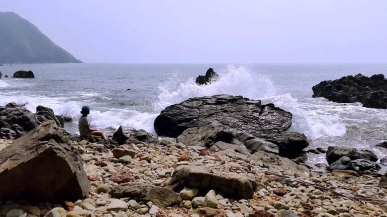 Agonda - Cabo de Rama rocks