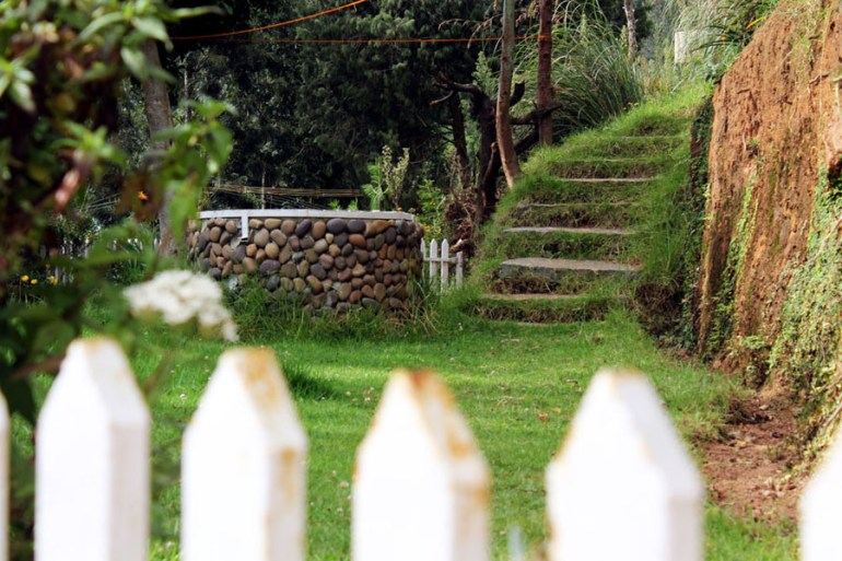 Coonoor - Great escape - Well and stairs