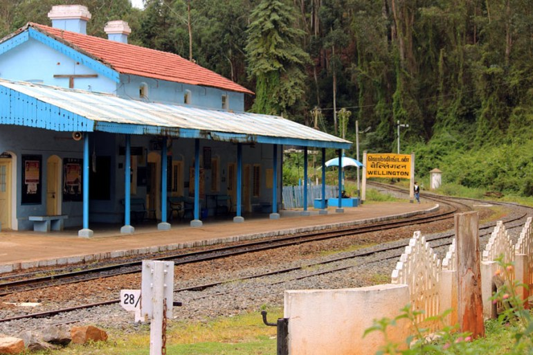 Coonoor - Wellington station