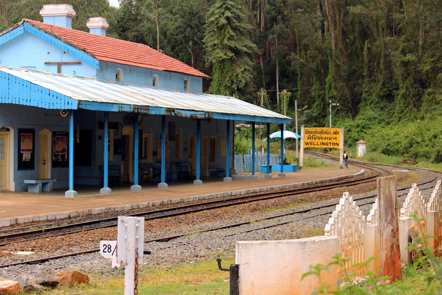 Coonoor - Wellington station - an escape from the summer heat
