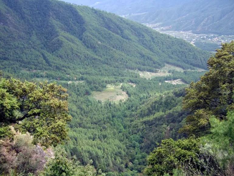 Bhutan - View from Taktsang