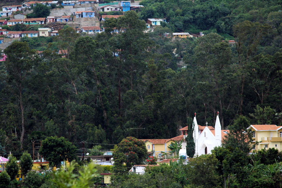 Coonoor - Hillside church - mountain holiday destinations in India