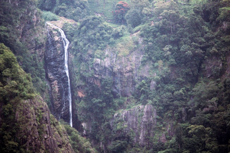 Coonoor - Waterfall at Dolphins Nose - mountain holiday destinations in India