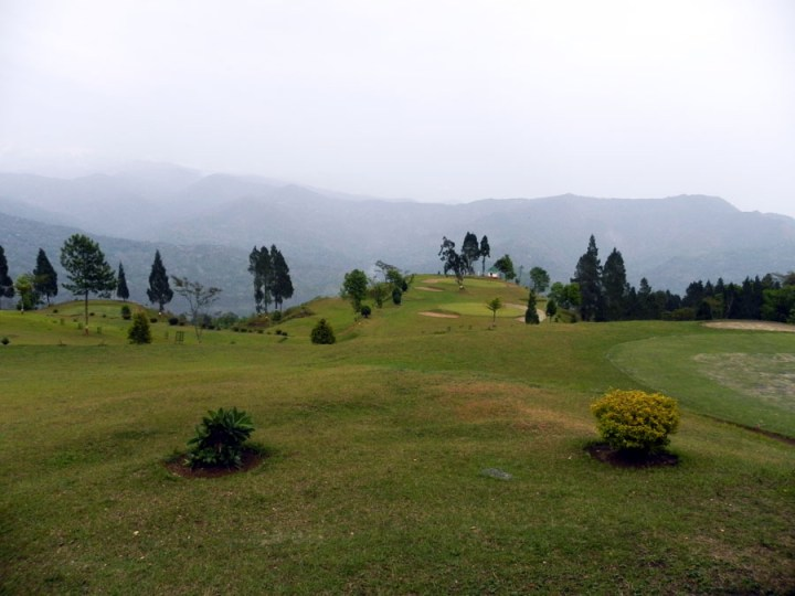 Kalimpong -Golf course - mountain holiday destinations in India