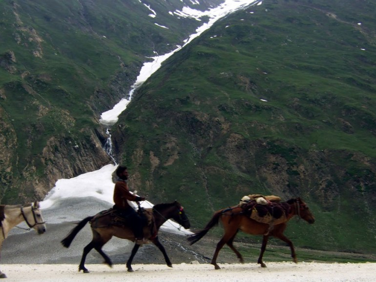Ladakh - Nomadic herders - mountain holiday destinations in India