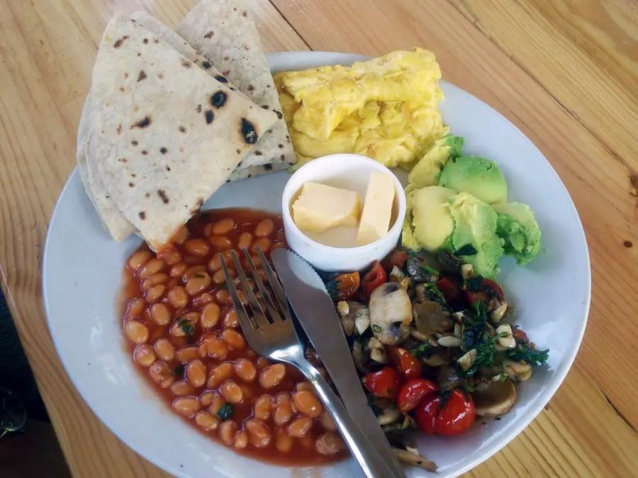 Agonda - eating and acco - breakfast - perfect base for a Goa trip