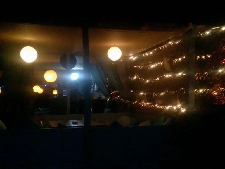 Agonda - eating and acco - saxony restaurant - perfect base for a Goa trip
