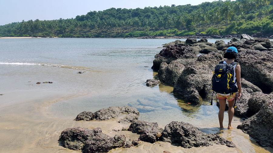 Agonda - nearby beaches -Galgibaga rocks - perfect base for a Goa trip