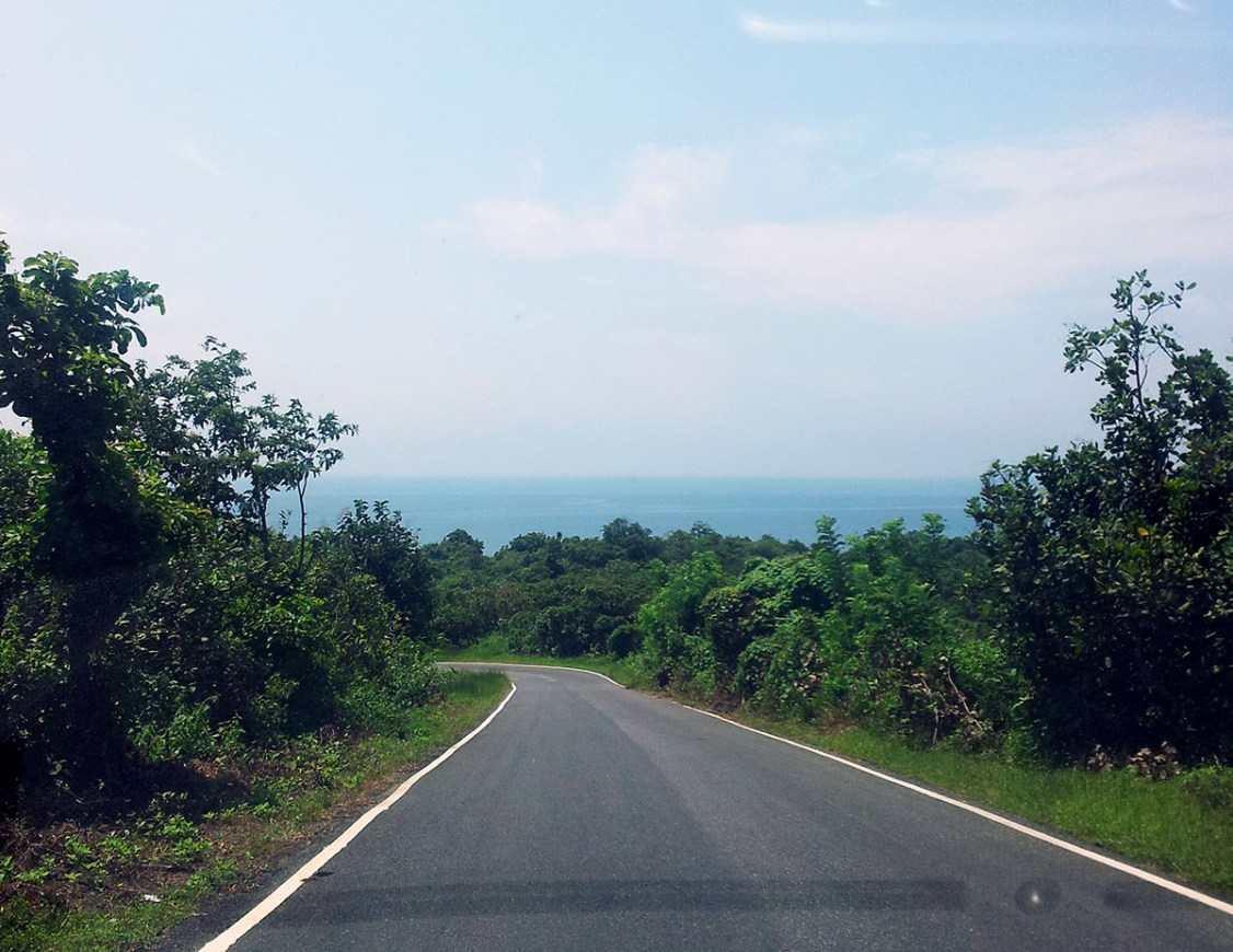 Agonda - nearby beaches - Palolem hill view - perfect base for a Goa trip
