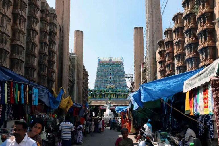 Madurai - Street - Temples of Madurai and Thanjavur
