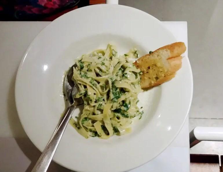 Good restaurants for veg food - Kaficko tagilatelle