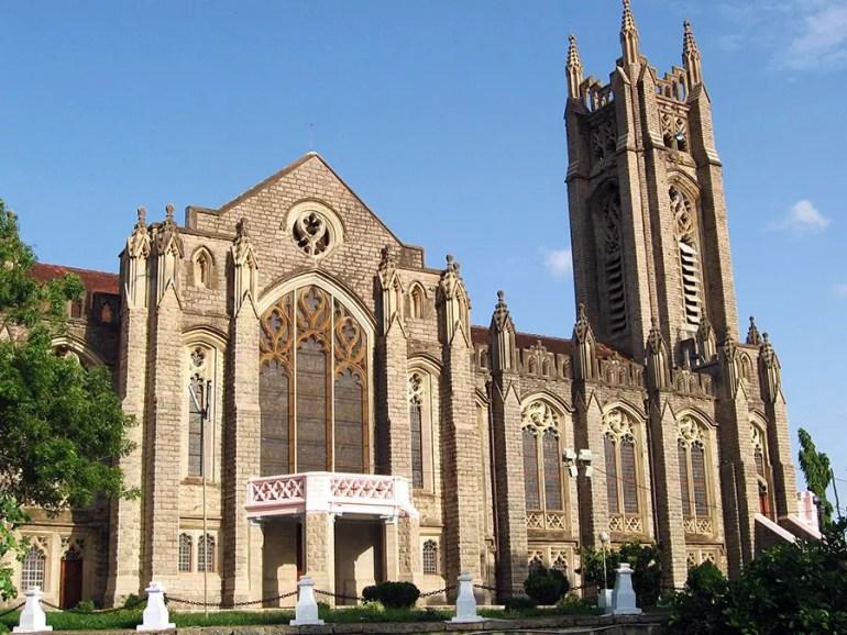 Medak cathedral, Medak, Telangana, India