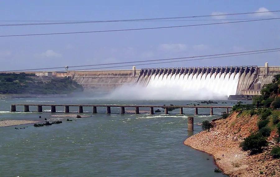 Nagarjuna Sagar dam, Telangana, India