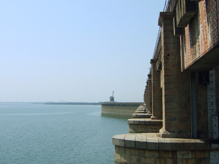 Great road trips from Hyderabad - Nizam Sagar dam, Telangana, India
