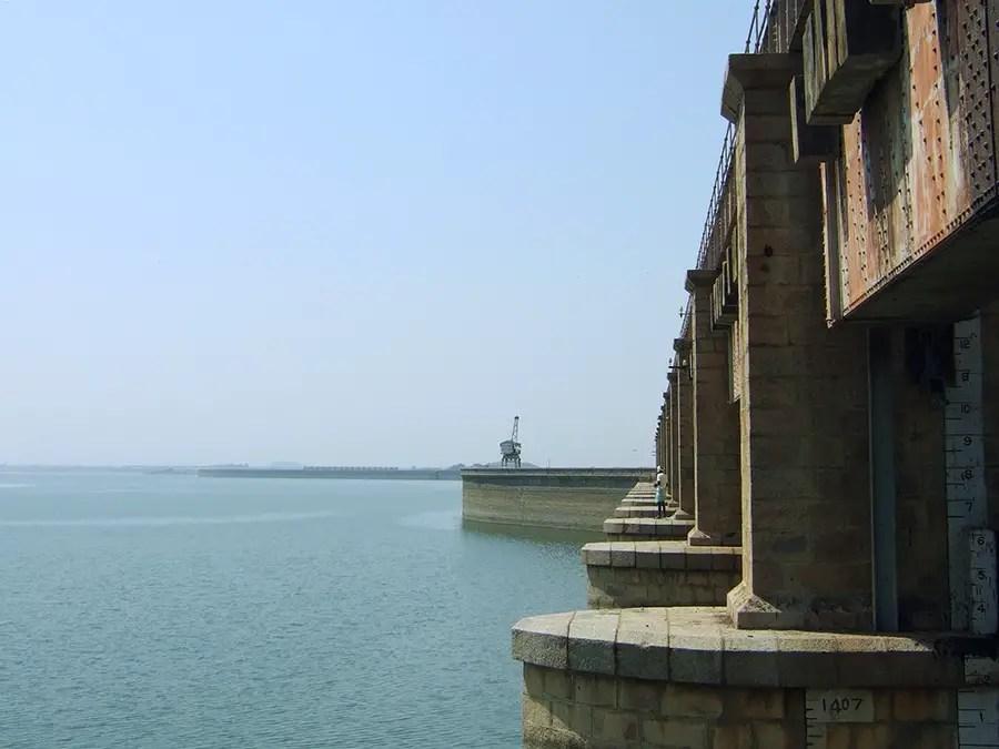 Nizam Sagar dam, Telangana, India