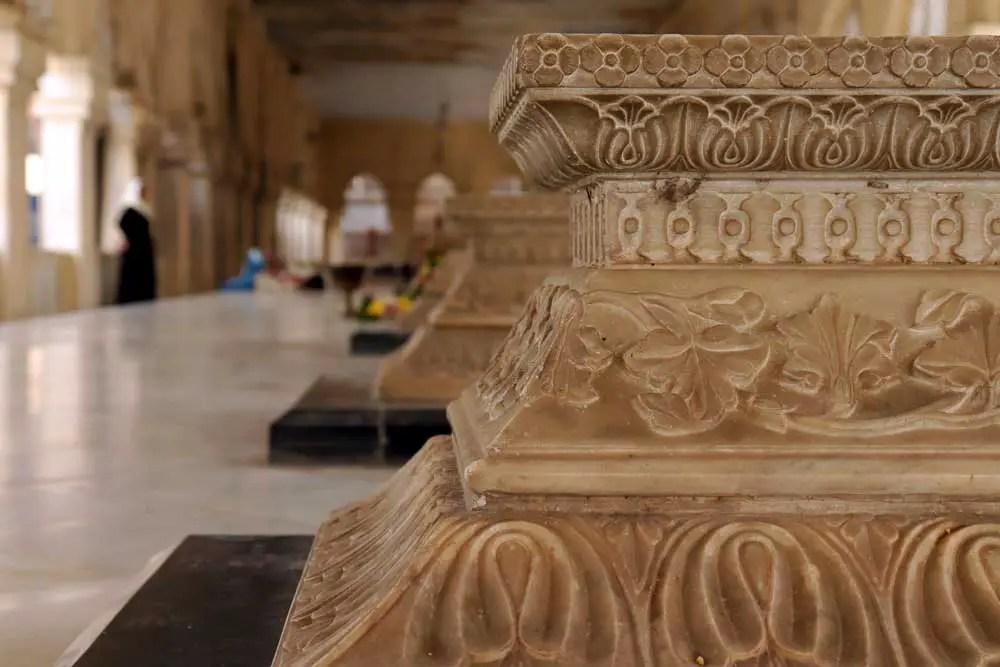 Burial gallery, Mecca Masjid, Charminar