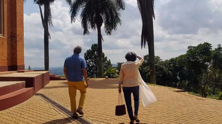 Rossini and Deepa - Kardamom & Koffee, a hidden gem in Kampala, Uganda