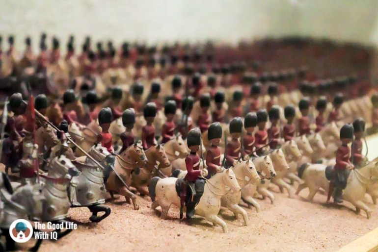 Toy soldiers - Things to do on the weekend in Hyderabad: The chaotic but interesting Salar Jung Museum