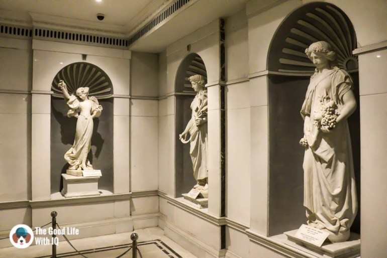 Marble statuesThings to do on the weekend in Hyderabad: The chaotic but interesting Salar Jung Museum