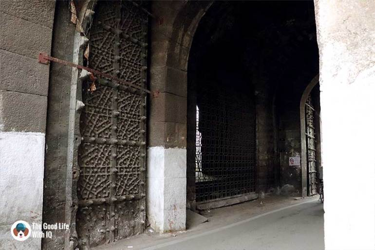 banjara darwaza close-up - Things to do on the weekend in Hyderabad: The outer ramparts of Golconda Fort