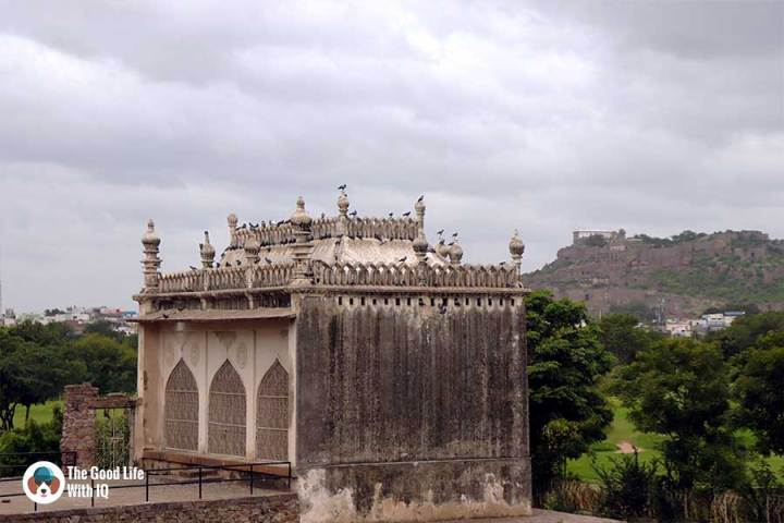mulla kahayali mosque in naya qila - Things to do on the weekend in Hyderabad: The outer ramparts of Golconda Fort