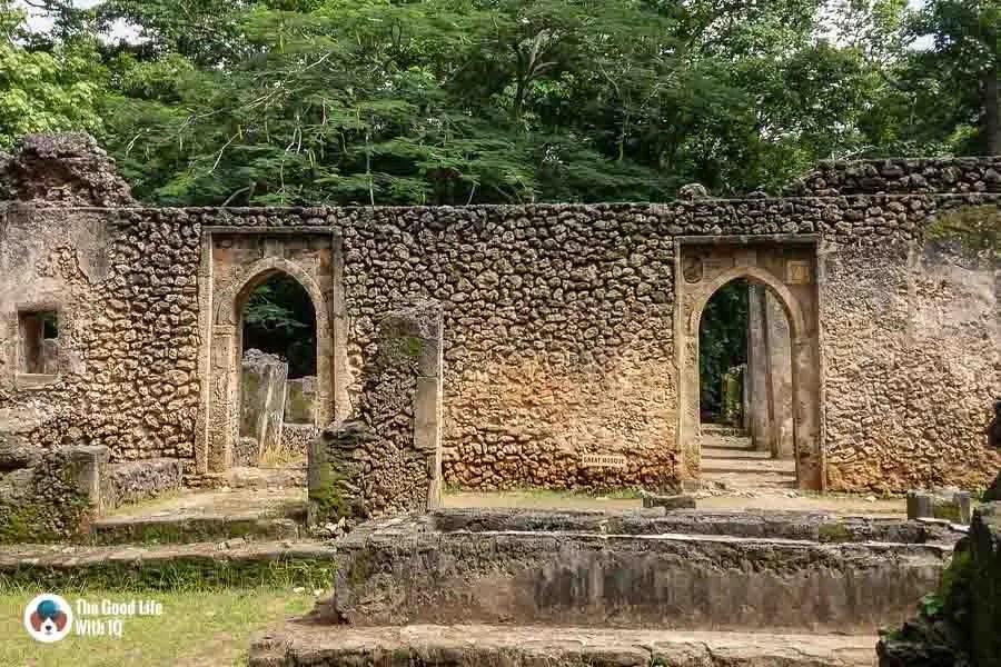 Great mosque - Gedi ruins, Malindi