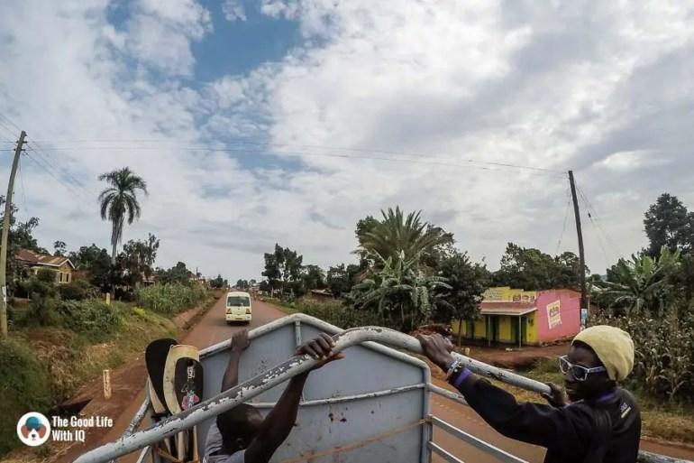 Open mini-truck, Jinja, Uganda