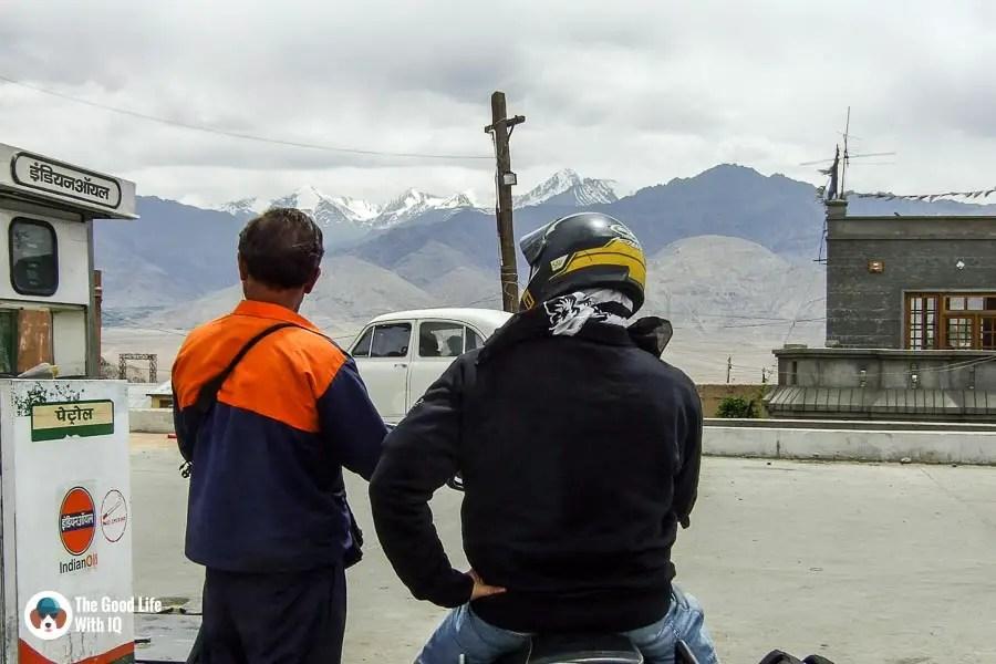 Mountain petrol pump - Motorcycle touring tips