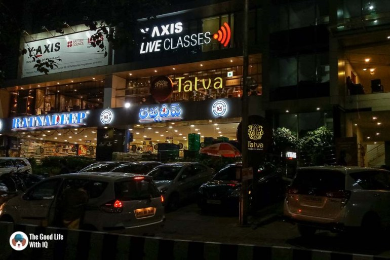 Tatva signboard - Tatva restaurant review