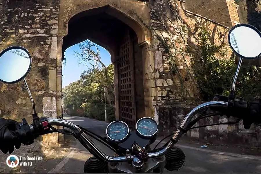 Fort gate - Chittorgarh