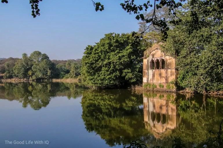 Hunting lodge, Ranthambhore