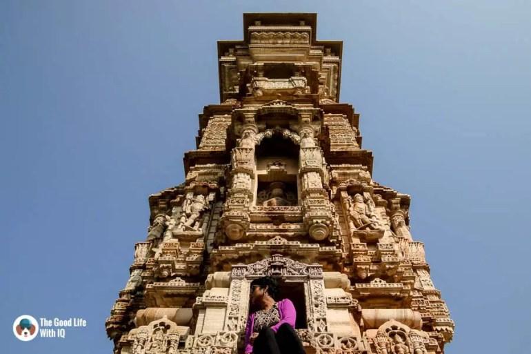 Kirti Stambh monument - Chittorgarh