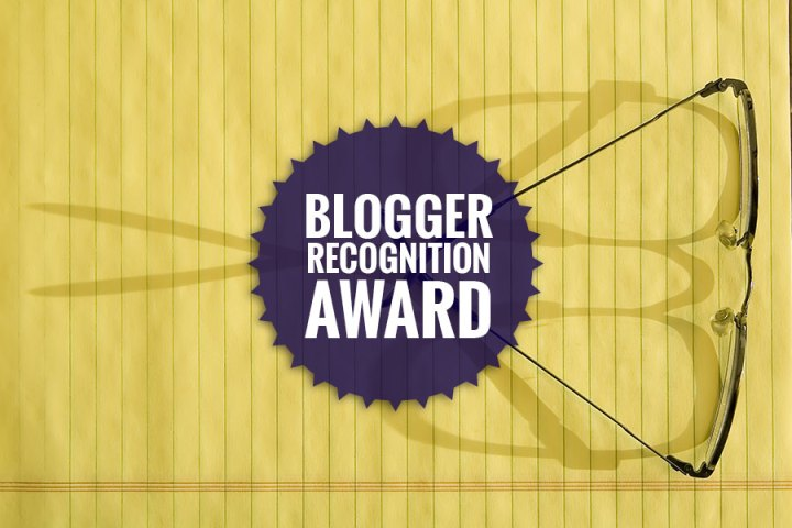 Nominated for the Blogger Recognition Award. Yay!