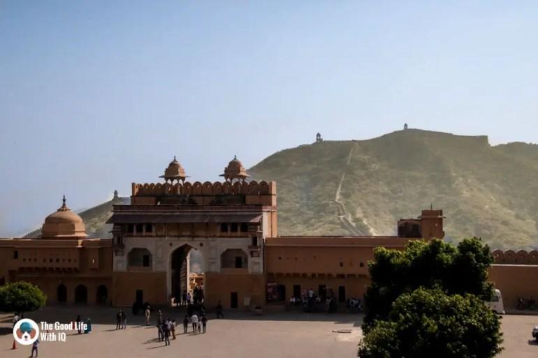 Courtyard, Amber Palace, Jaipur