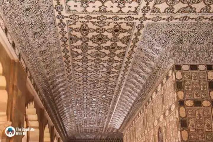 Sheesh mahal, Amber Palace, Jaipur