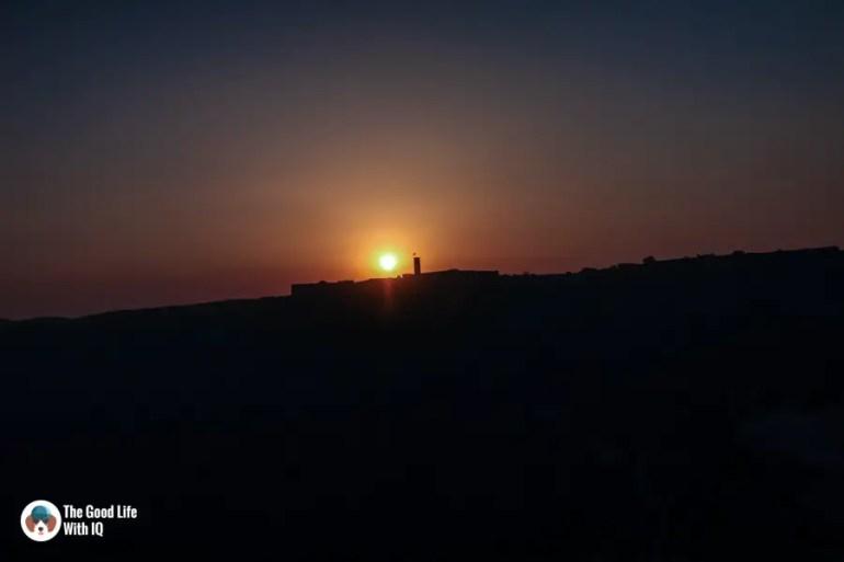 Sunset, Amer, Jaipur